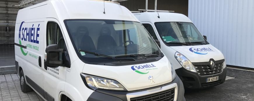 Des nouveaux véhicules pour SCHIELE Matériel Vinicole !